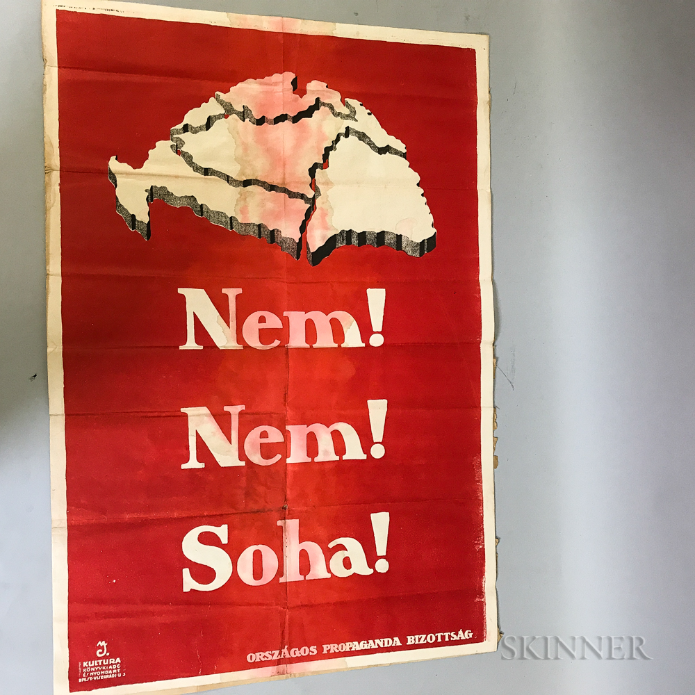 Two Color Lithograph Posters