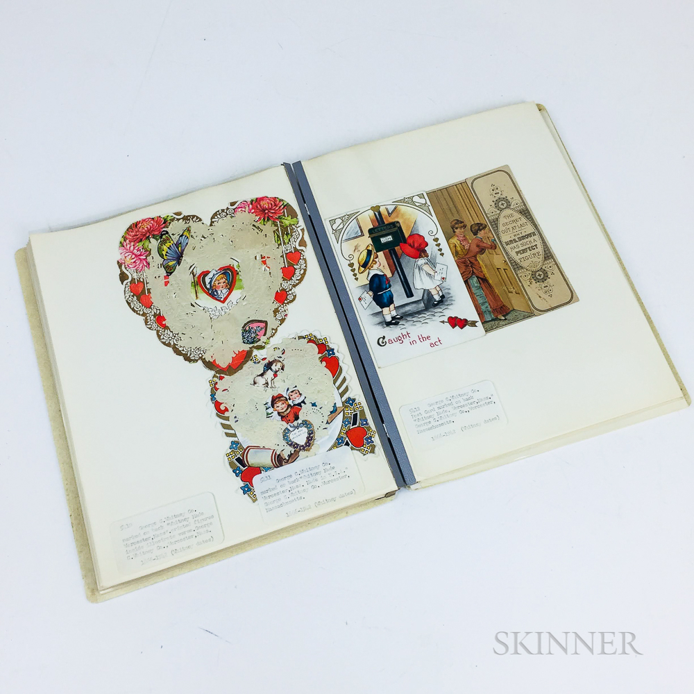 Group of Vintage and Antique Valentines