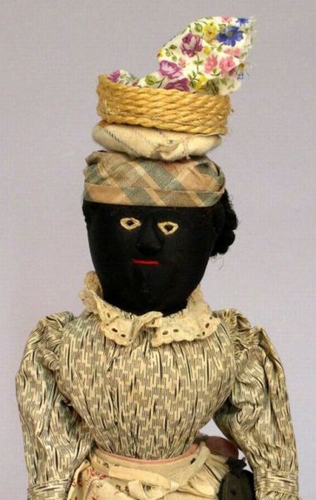 Hand-Crafted Cloth Black Doll
