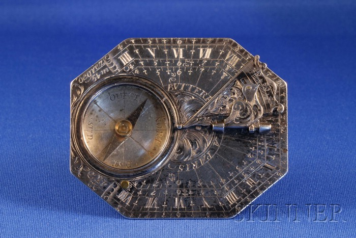 Silver Horizontal Dial by Butterfield