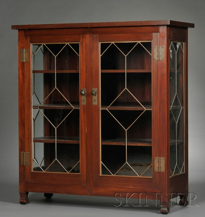 Roycroft Arts & Crafts Bookcase/China Closet