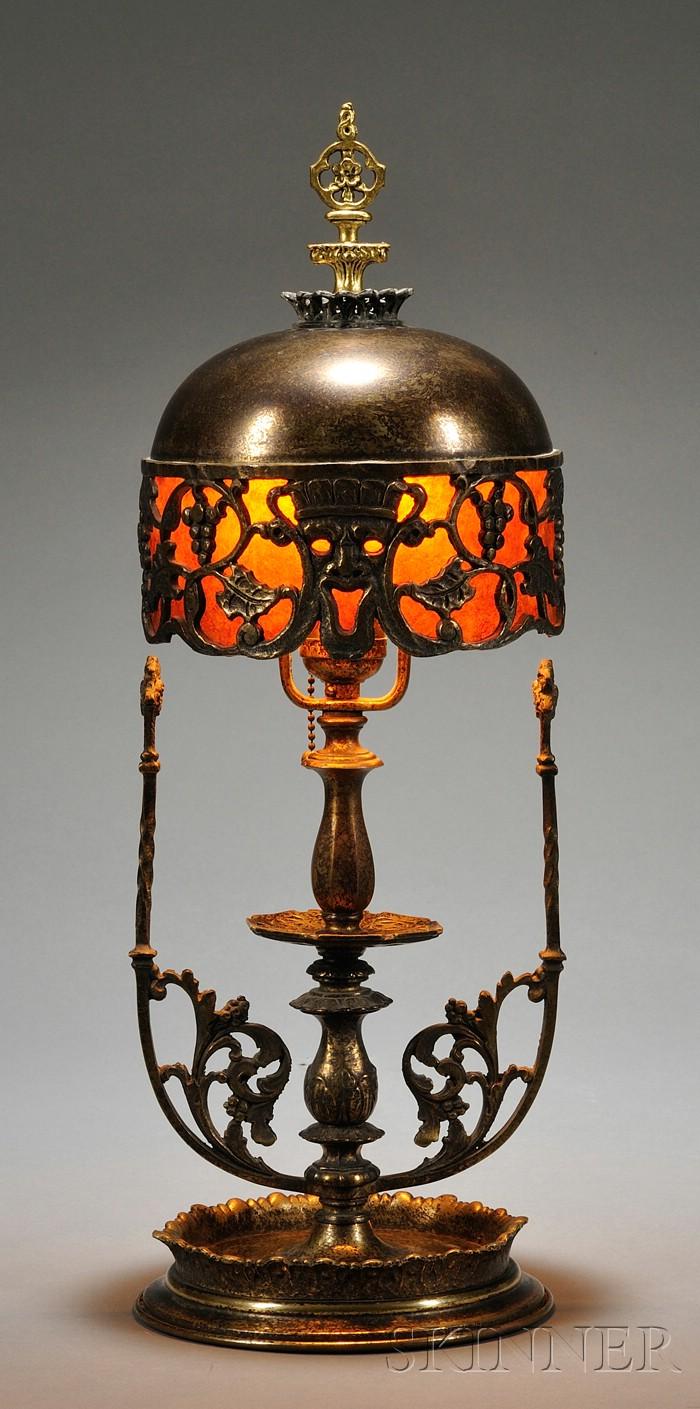 Oscar Bach (1885-1957) Boudoir Lamp