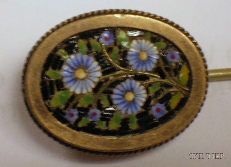 Seven Pieces of Italian Micromosaic Souvenir Jewelry