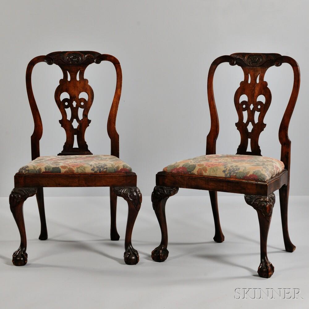 Pair of Georgian Side Chairs