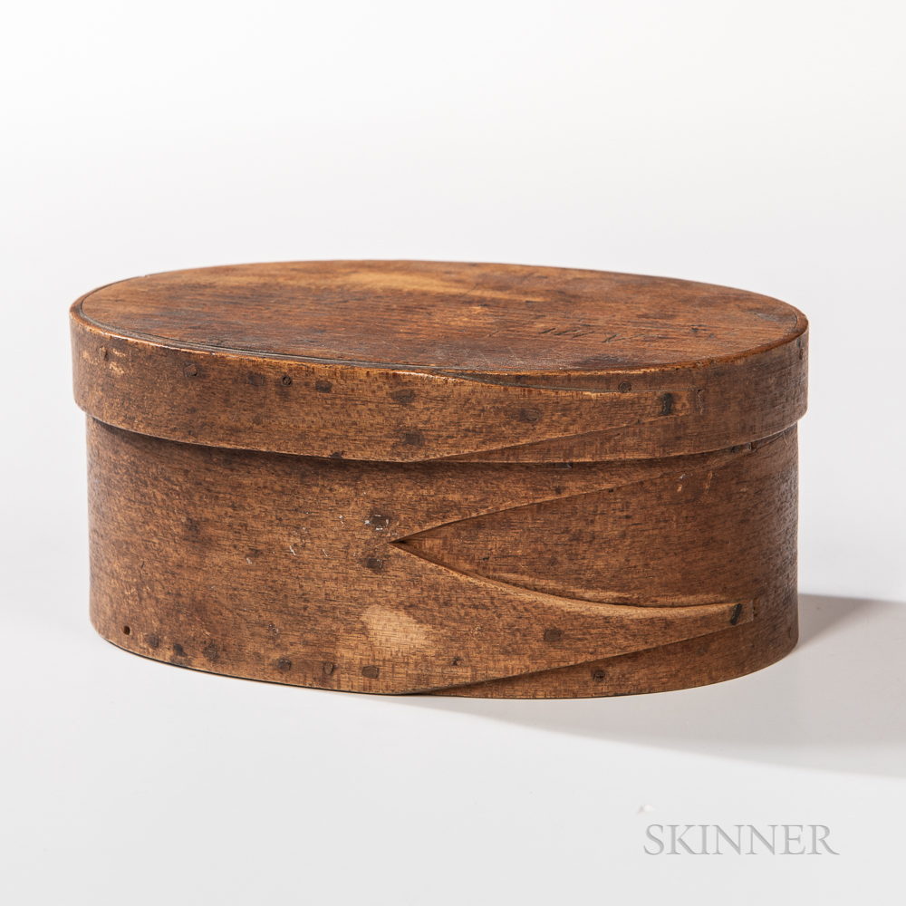 Shaker Oval Pantry Box