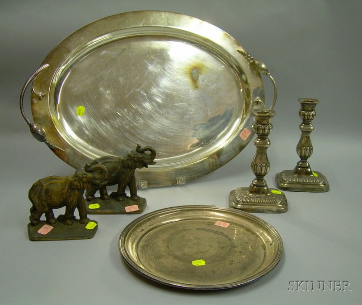Group of Silver and Metal Articles