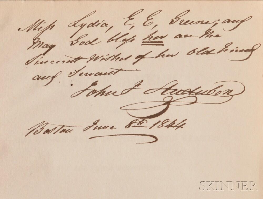 Audubon, John James (1785-1851) The Birds of America