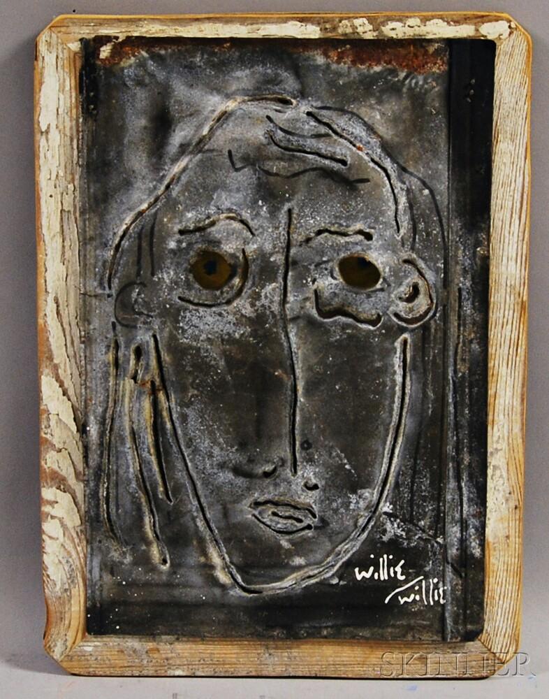 Willie Lamendola (American, 20th/21st Century)      Mask