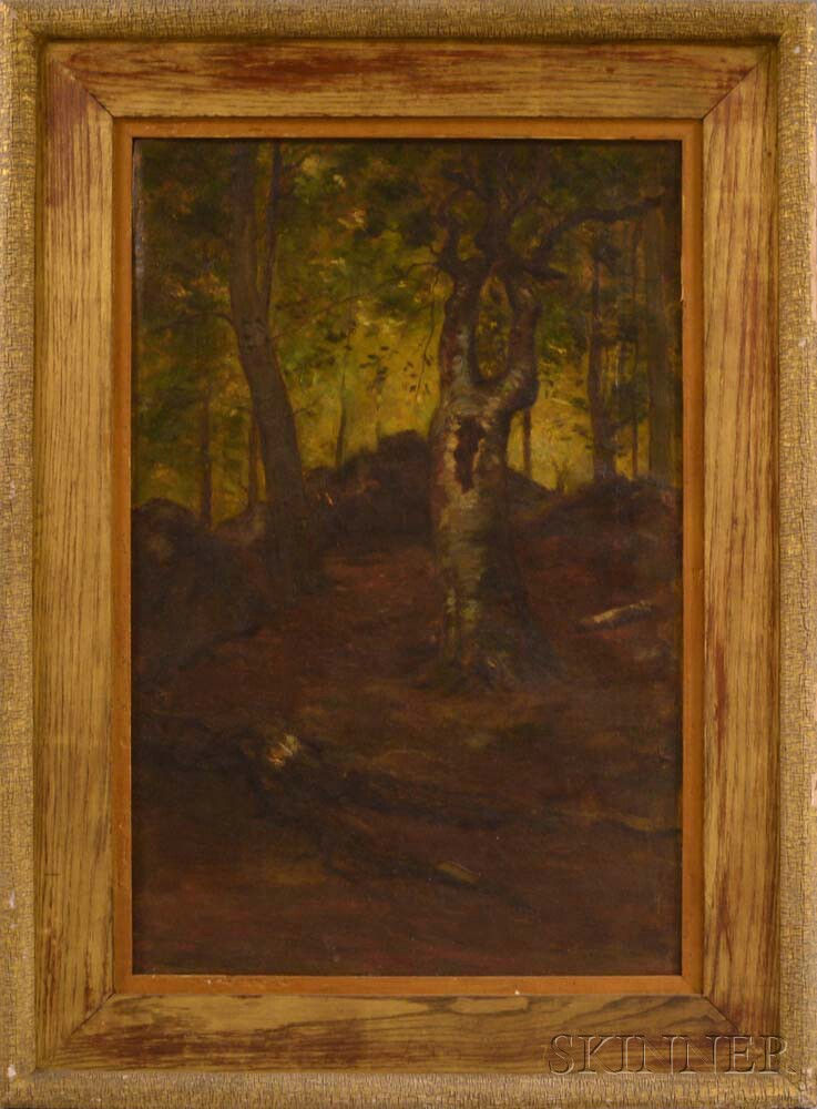 After William Morris Hunt (American, 1824-1879)      A Naushon Beech