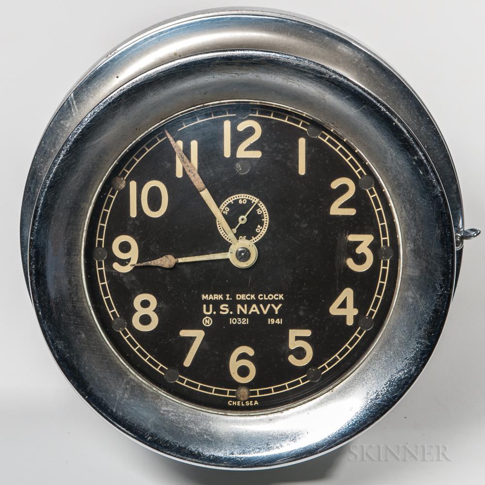 Chelsea Mark I Deck Clock