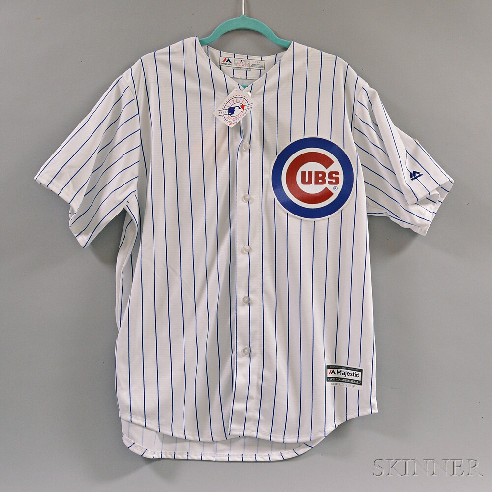 Ernie Banks Signed Cubs Baseball Jersey