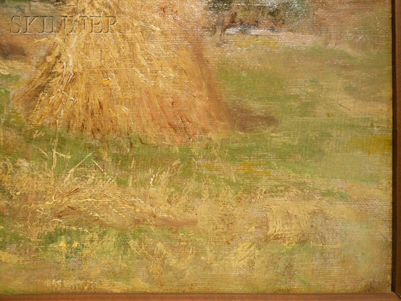 Joseph H. Greenwood (American, 1857-1927)      Farm Near Worcester