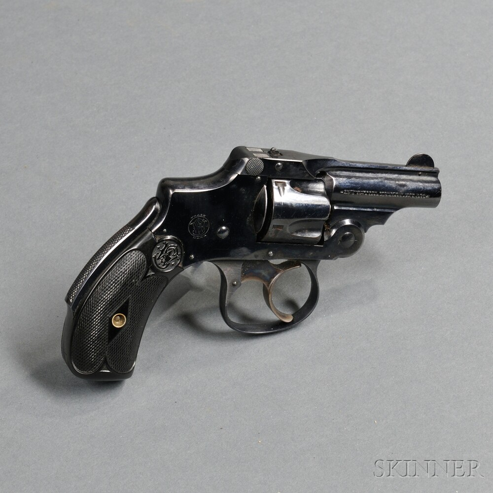 Smith & Wesson 32 Safety Double-action Bicycle Revolver