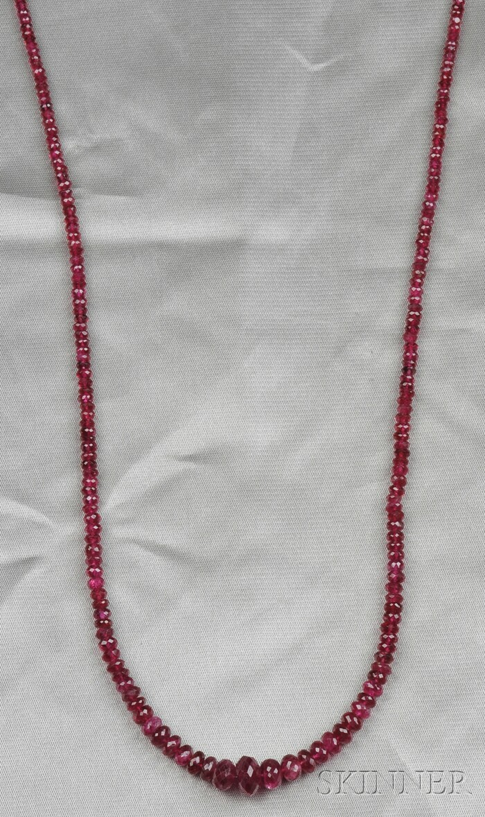 Spinel Bead Necklace