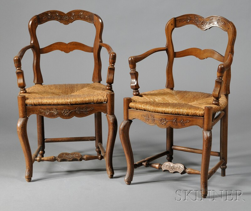 Two Provincial Armchairs