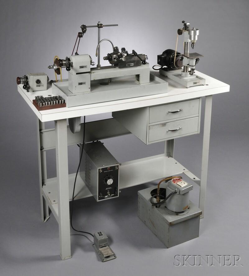 Levin Instrument Turret Lathe Micro Drill Press And