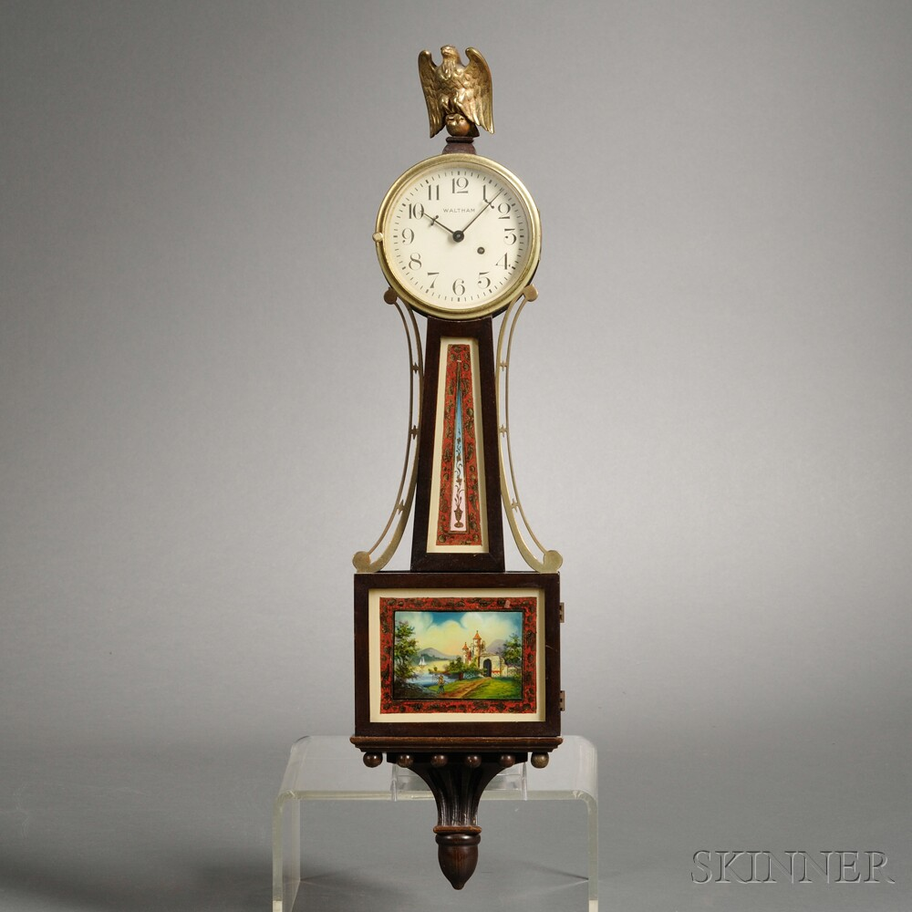 "Waltham Miniature ""Banjo"" Time Piece"