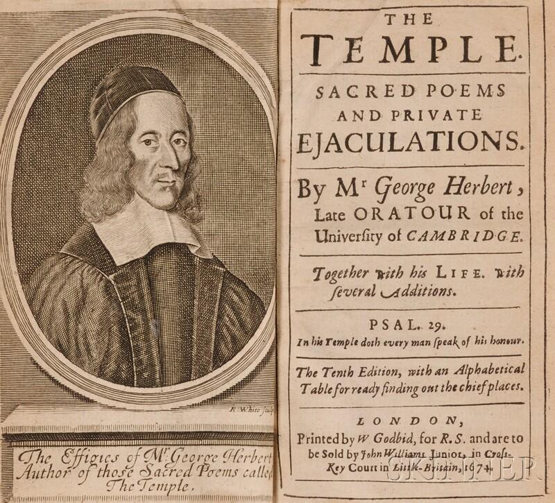 Herbert, George (1593-1633), & Walton, Isaac (1593-1683)