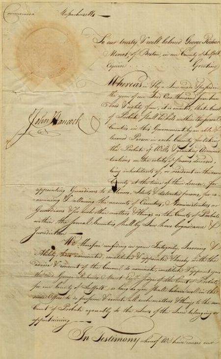 Hancock, John (1737-1793) and Adams, Samuel (1722-1803)
