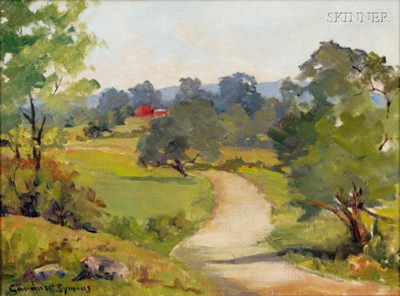 George Gardner Symons (American, 1863-1930)      The Road Home