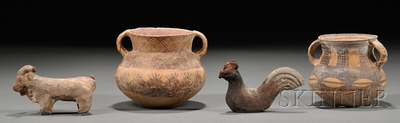 Group of Early Pottery Pieces