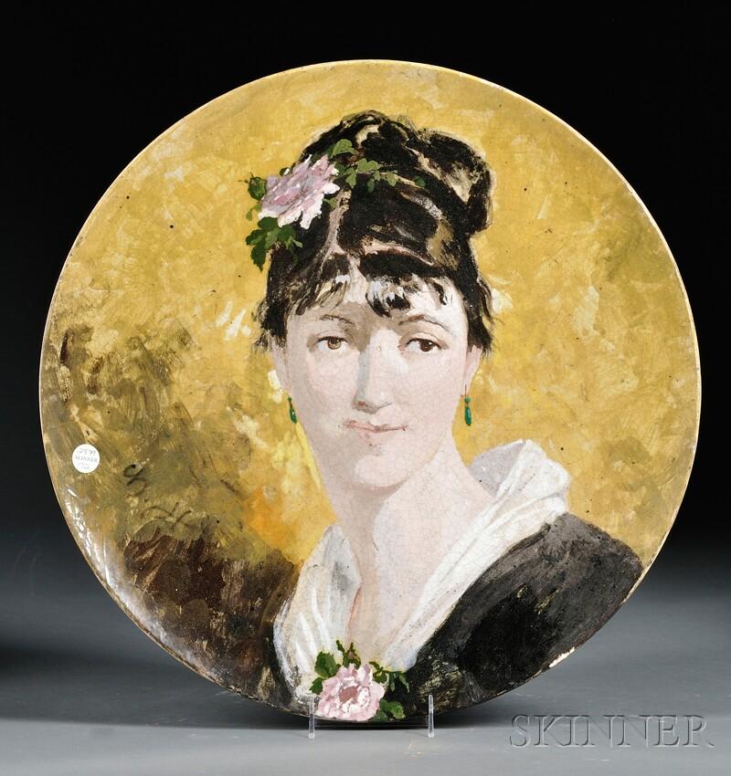 Ceramic Portrait Charger