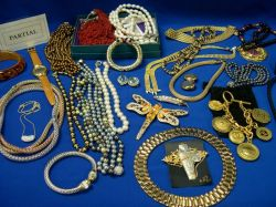 Large Group of Late 20th Century Costume Jewelry.