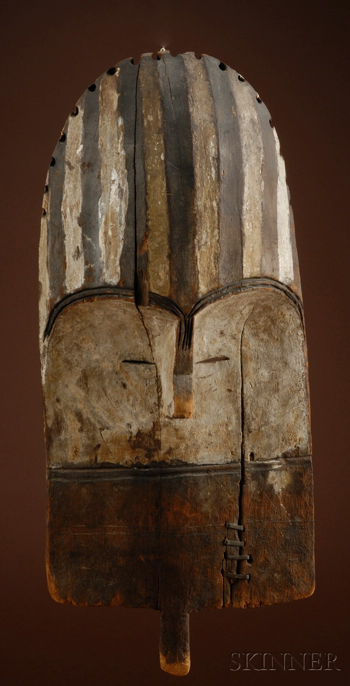 Rare African Carved Wood Mask
