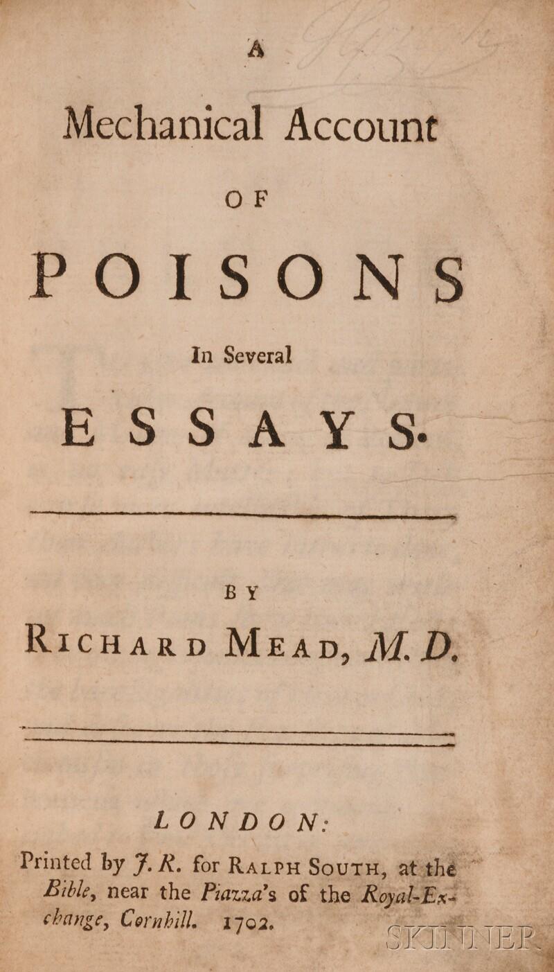 Mead, Dr. Richard (1673-1754)