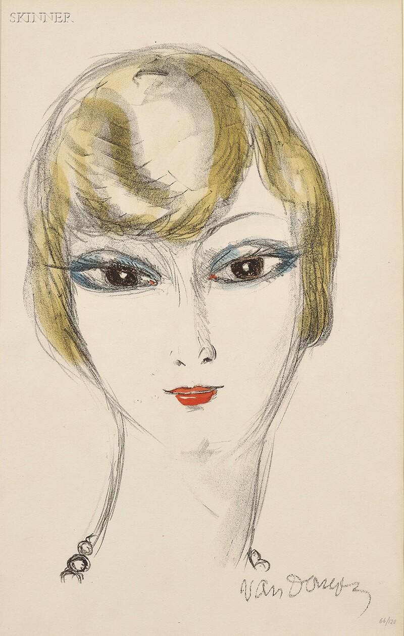 Kees van Dongen (Dutch, 1877-1968)      Young Girl