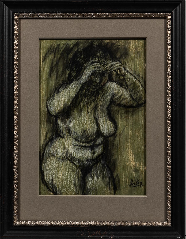 Leon Karp (American, 1903-1951)      Nude.