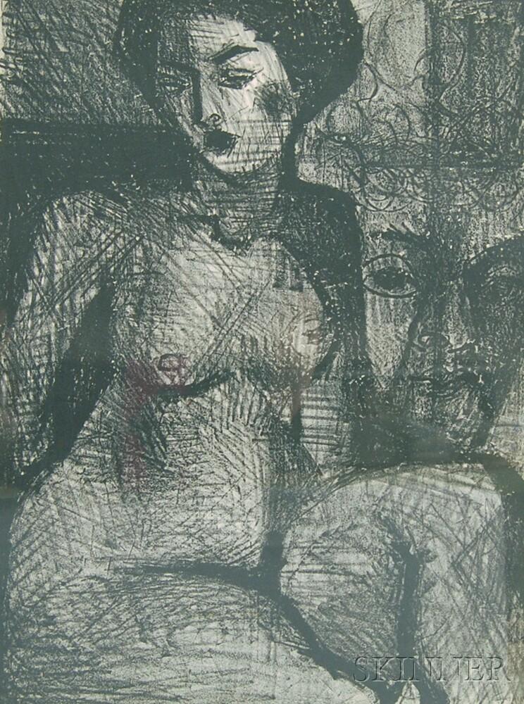 John Grillo (American, b. 1917)      Nude