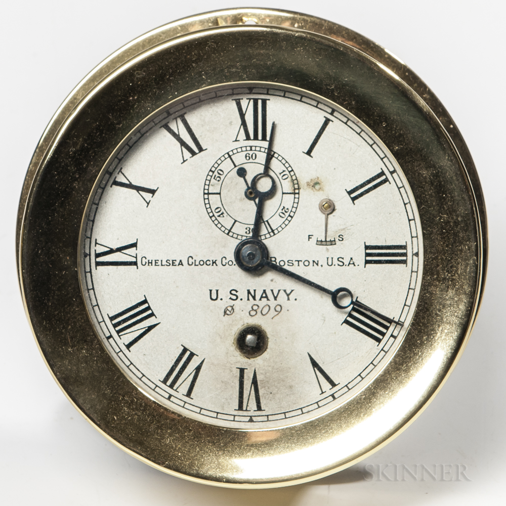 U.S. Navy Chelsea Marine Clock