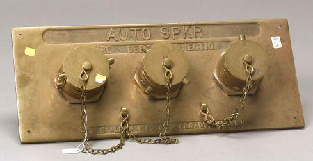 Brass Fire Dept. Connection Auto Sprinkler