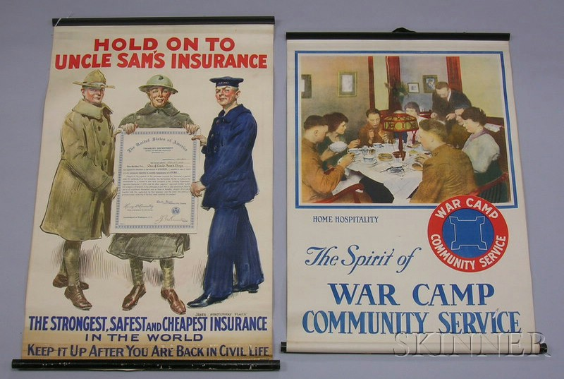 Five WWI Lithograph Posters