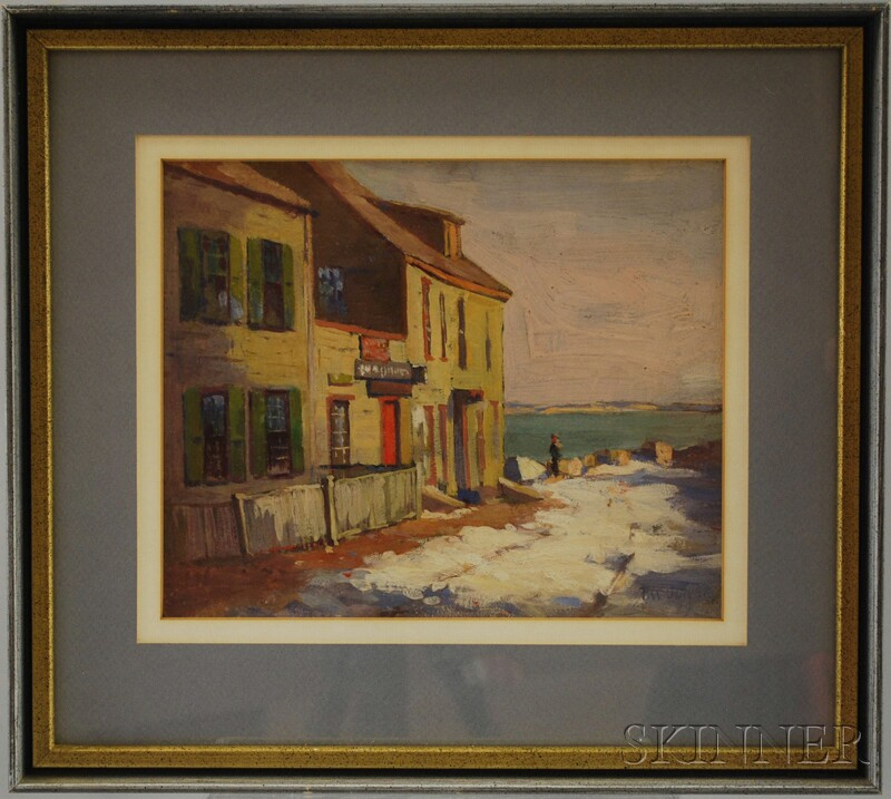 Frederick W. Oliver (American, 1876-1963)      Marblehead