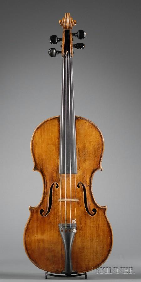 Violin, Vuillaume School, c. 1860