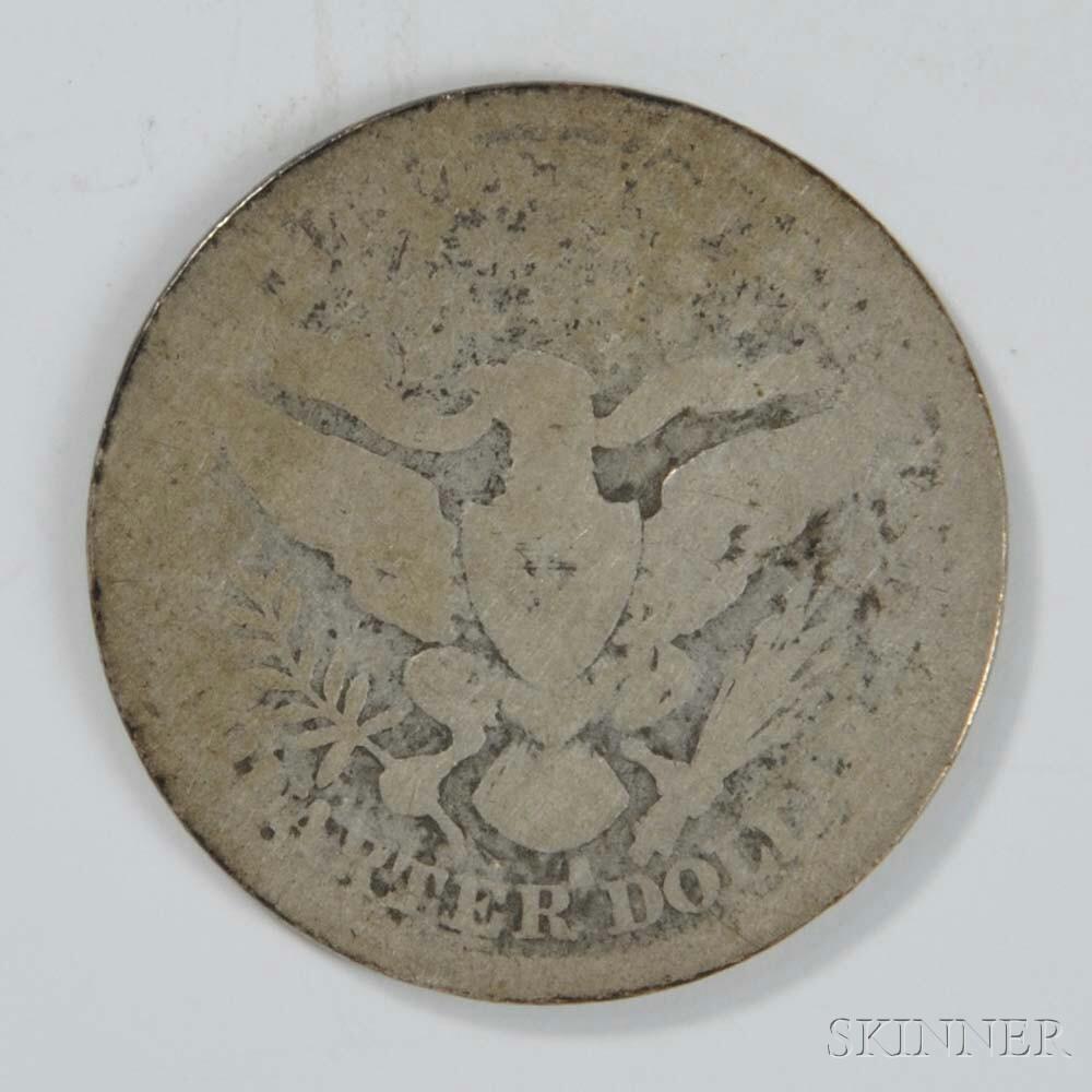 1896-S Barber Quarter