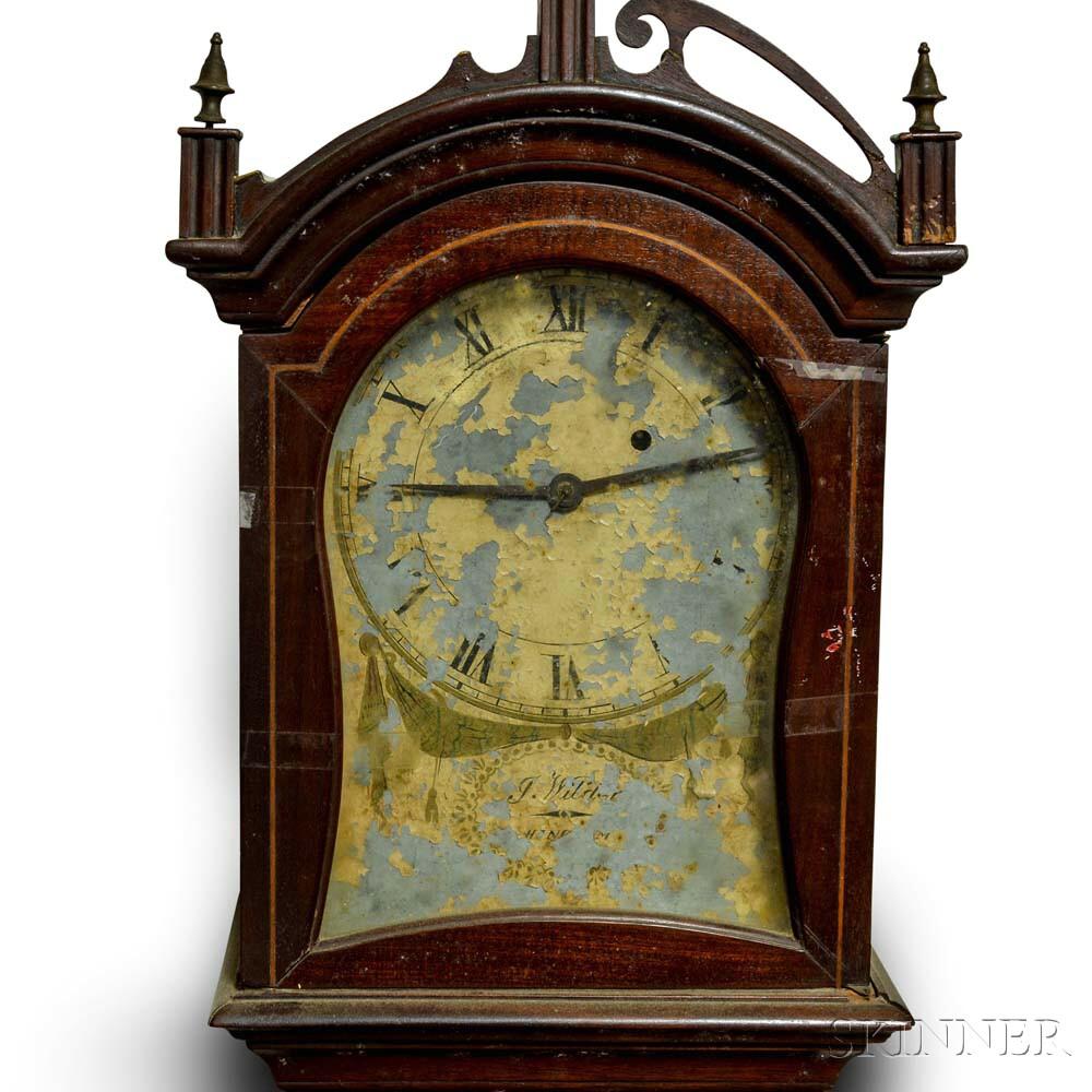 Mahogany Dwarf Clock