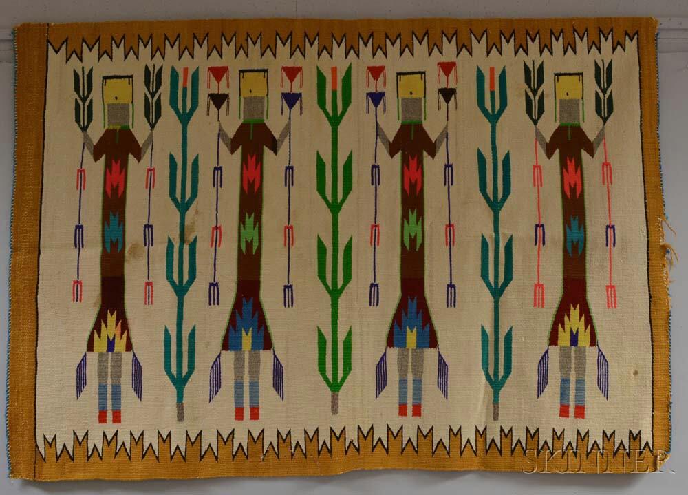 Navajo Yei Pattern Weaving