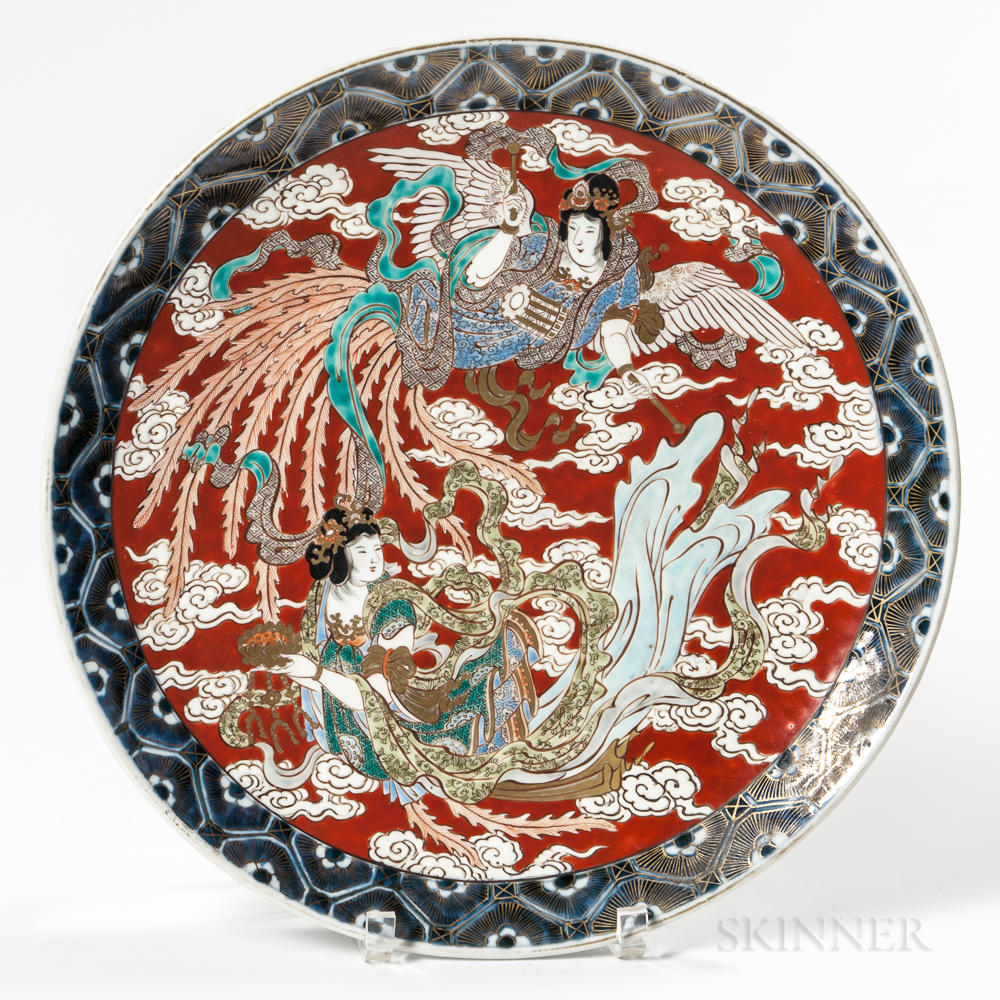 Imari Export Porcelain Charger
