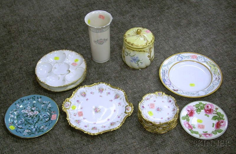 Group of Assorted Decorated Porcelain and Ceramics