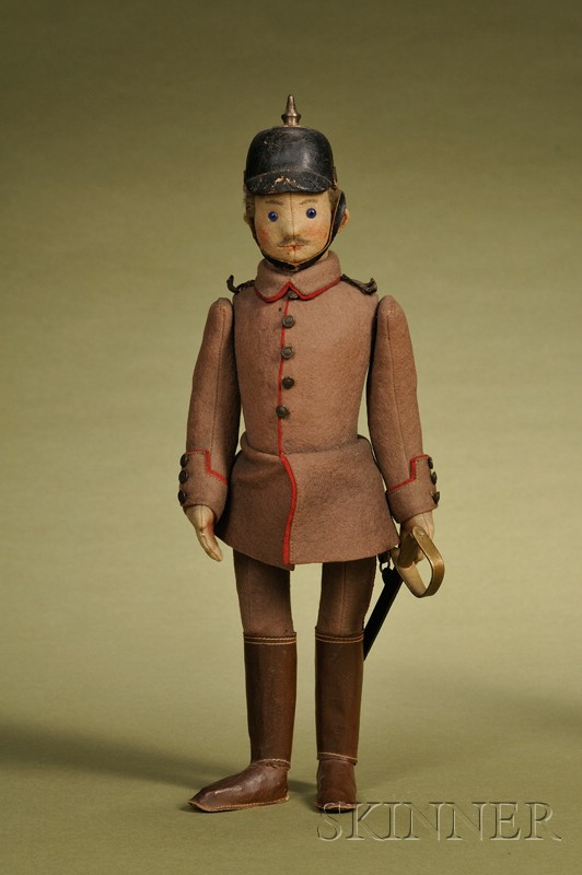 Steiff German Soldier Character Doll