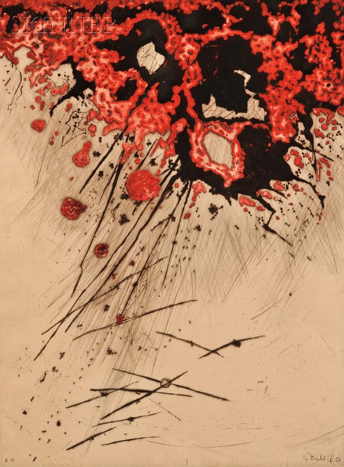 Yannick Ballif (British, b. 1927)      Nagasaki