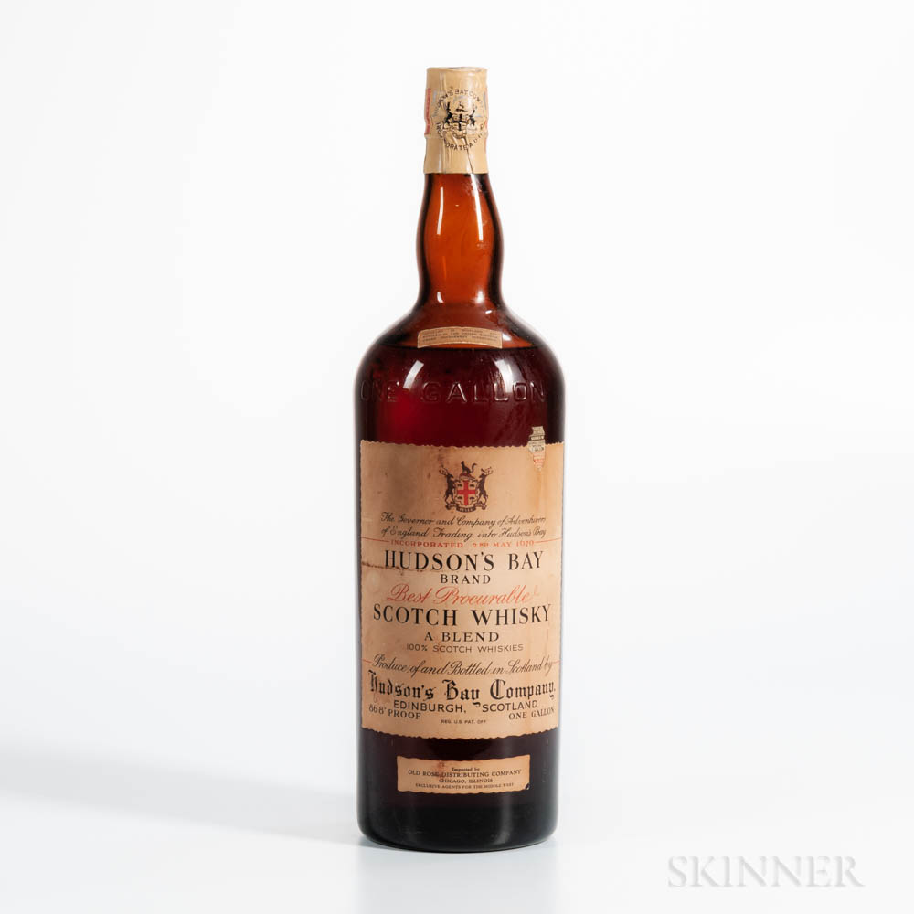Hudson Bay Brand, 1 gallon bottle