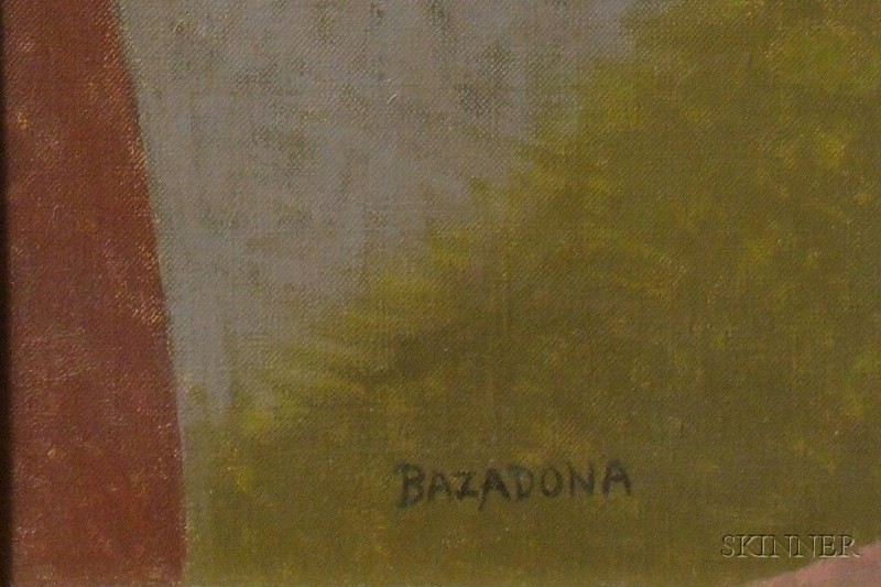 John F. Bazadona (American, 1948-2000)      Hunting 2  /A Sportsman's Still Life