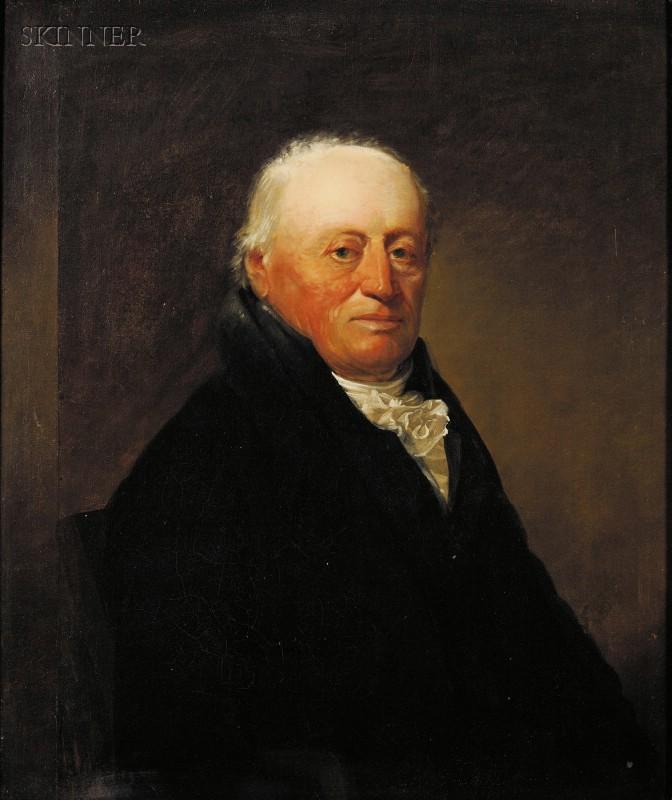 Attributed to Sir Henry Raeburn (British, 1756-1823)      Portrait of a Gentleman