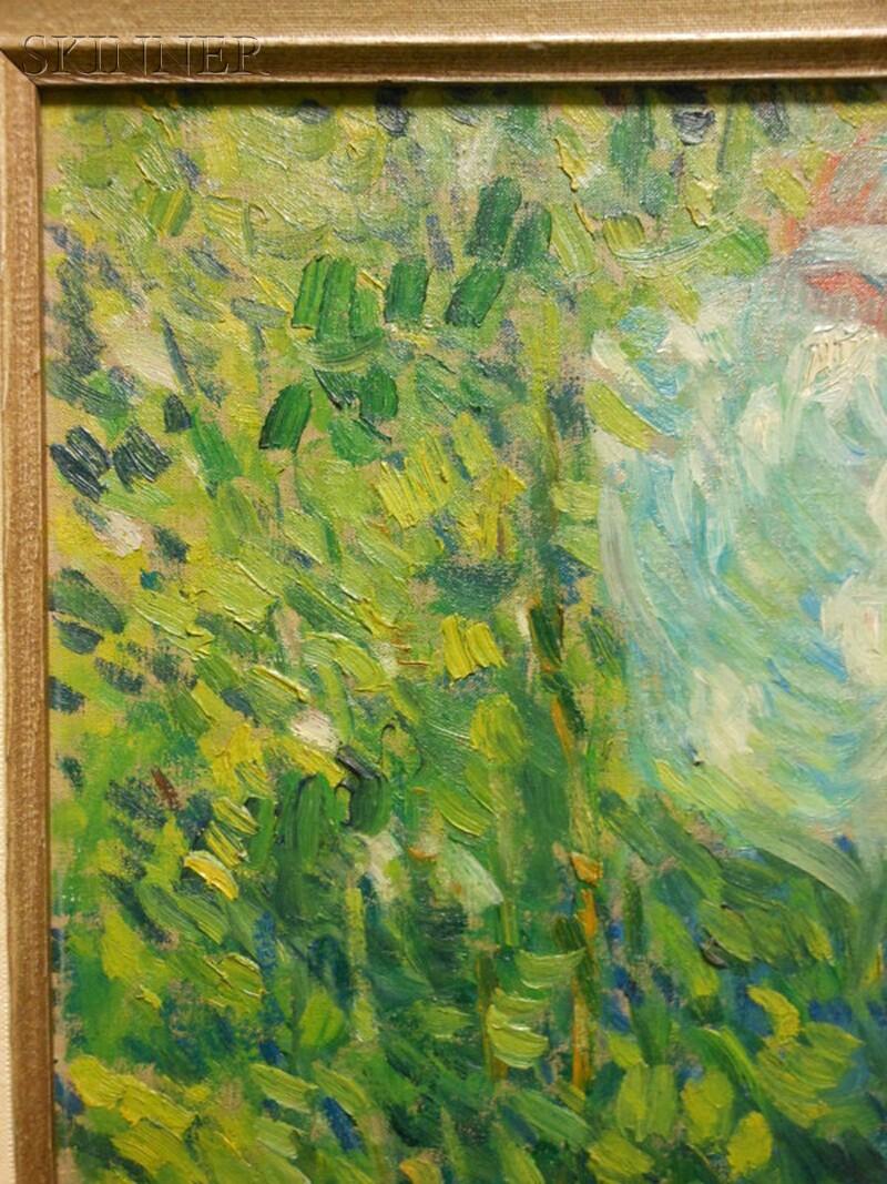 Frederick Carl Frieseke (American, 1874-1939)      Nude (Giverny)
