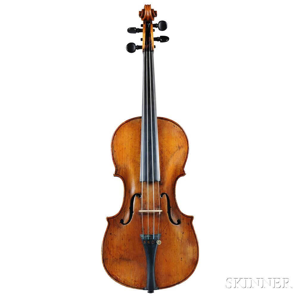 German Violin, Klingenthal School, c. 1820