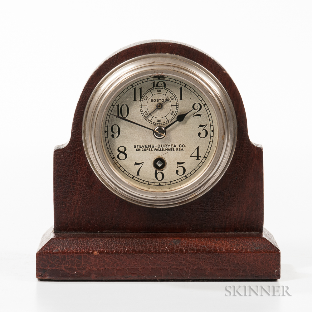 Stevens-Duryea Co. Automobile Clock
